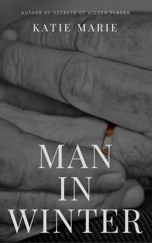 Man in winter