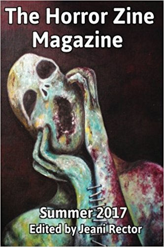 Horror Zine Magazine Summer 2017 Cover